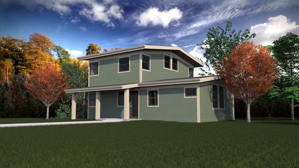 We Built The First Certified Leed Platinum Home In Iowa City